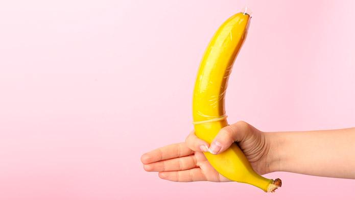 El plátano es bueno para las erecciones