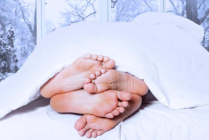 Trucos para mantener el calor en la cama este invierno