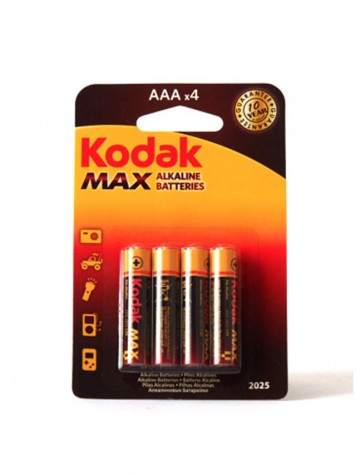 Pilas alcalinas LR03 AAA Kodak