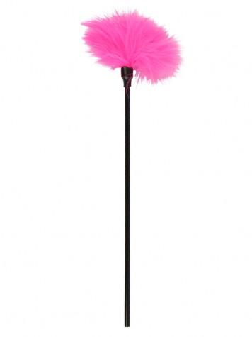 Pluma estimuladora color rosa
