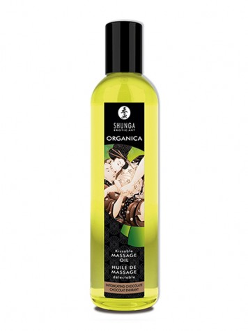 Shunga aceite para masaje afrodisíaco sabor Chocolate
