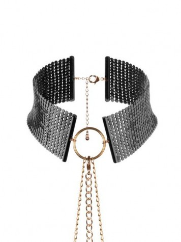 Collar Bijoux desir metalique color negro