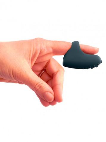 Dedal Vibrador en el dedo