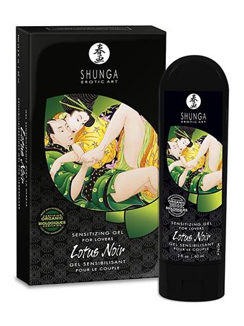 Gel sensibilizante Shunga Lotus Noir