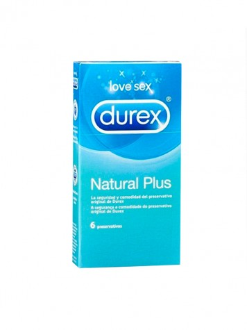 DUREX NATURAL PLUS (6 unidades)