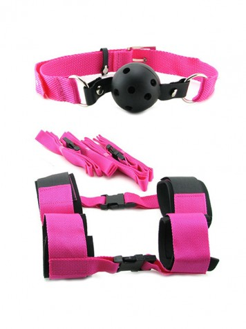 Kit Bondage Pink Passion Fetish Fantasy