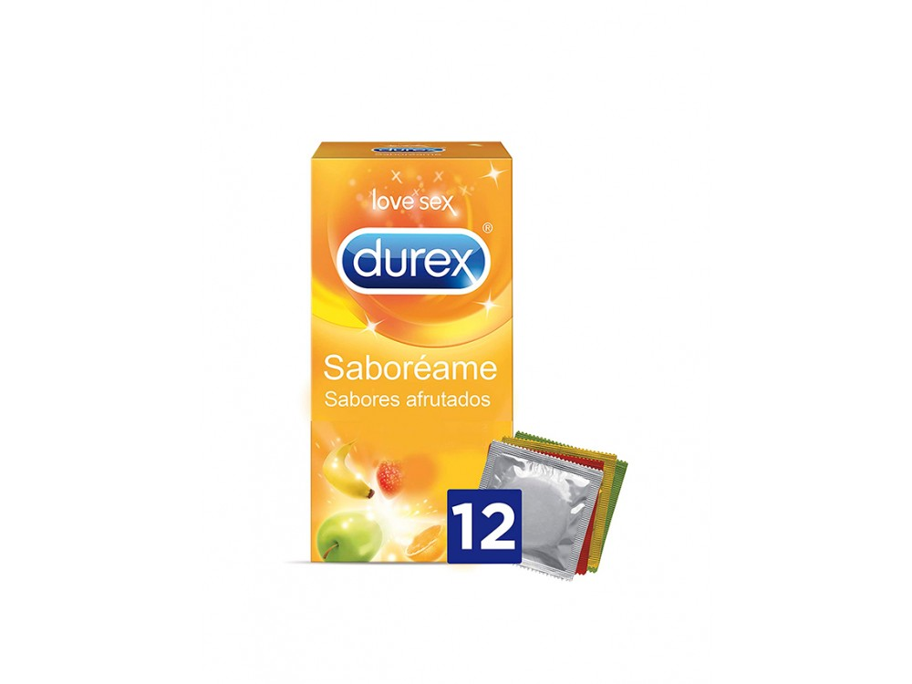 DUREX SABORÉAME 12U